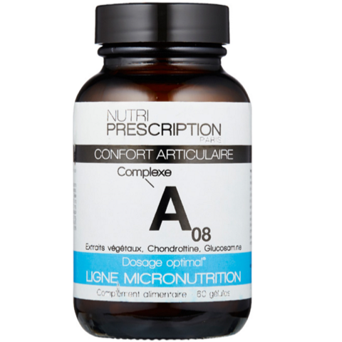 Nutriprescription - A08 Confort Articulaire - 60 gélules