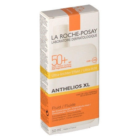 La Roche Posay - ANTHELIOS 50+ XL Fluide ultra léger, 50 ml