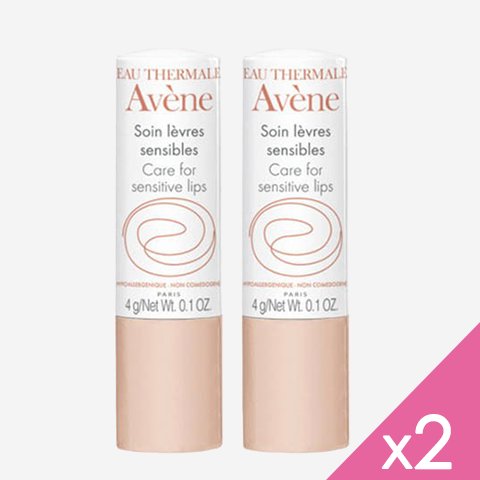 Avène COLD CREAM DUO Soin lèvre sensible 2Sticks/4g