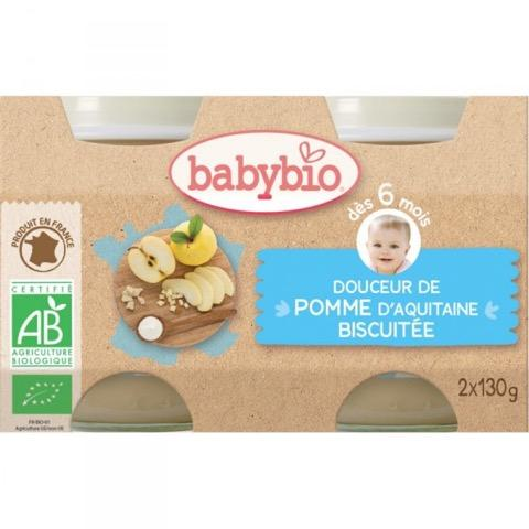 VITAGERMINE Babybio - Douceur Pomme Biscuit