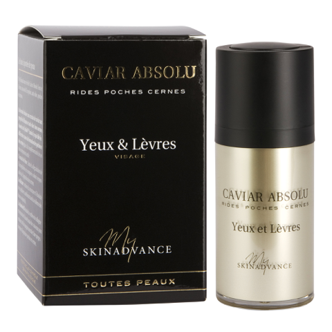 SKINADVANCE My SKINADVANCE - CAVIAR ABSOLU Yeux & Lèvres - 15ml