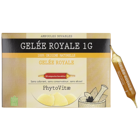 PHYTOVITAE Ampoule GELEE ROYALE 1g