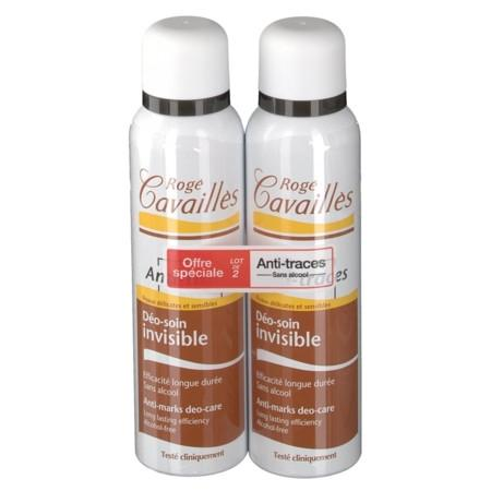 ROGE CAVAILLES DEO ABSORB + Déodorant spray invisible 2x150ml