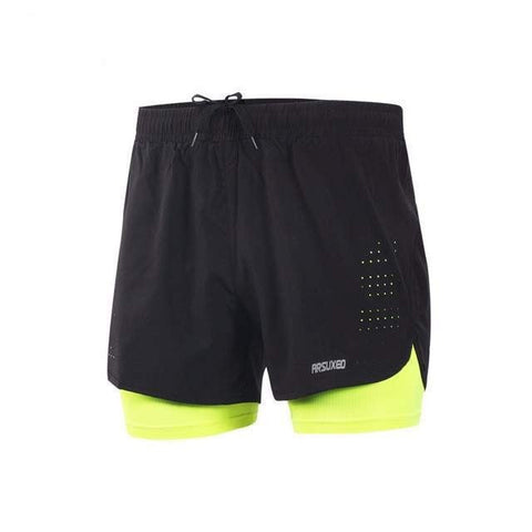 Men's 2in1 Racing Short Shorts