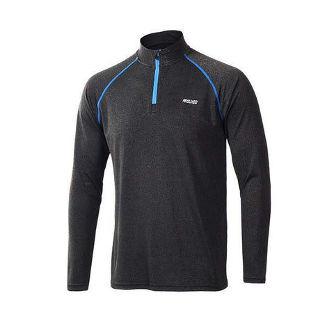 Men's Half Zip Long Sleeve Shirt