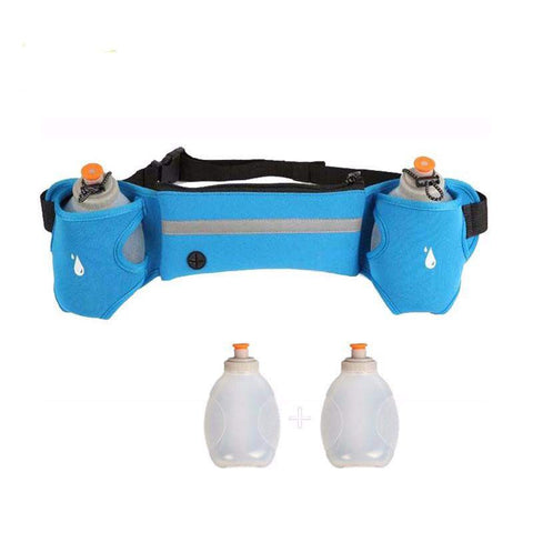 Endurance Hydration Belt With 2 Water Bottles