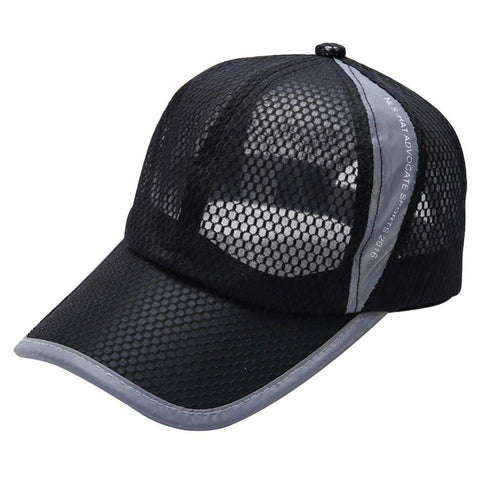 Multi-Color Mesh Workout Snapback Hat