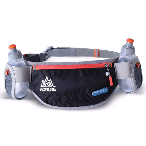 Professional Hydration Belt With 2 Water Bottles