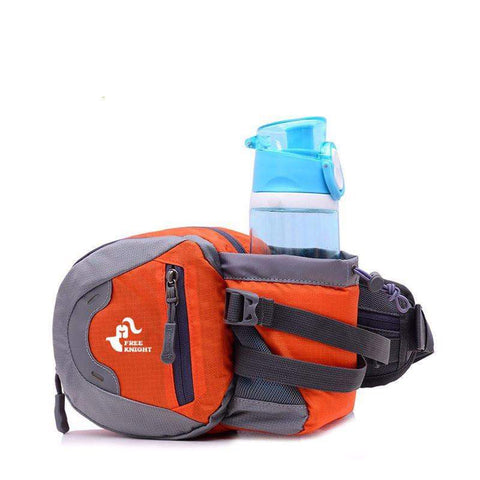 Spacious Running Pouch & Water Bottle Belt