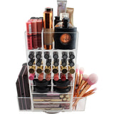 Chic Spinning Makeup Tower (CLEAR)
