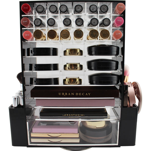 Ultimate Spinning Makeup Tower (BLACK)