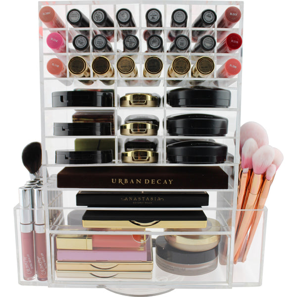Ultimate Spinning Makeup Tower (CLEAR)