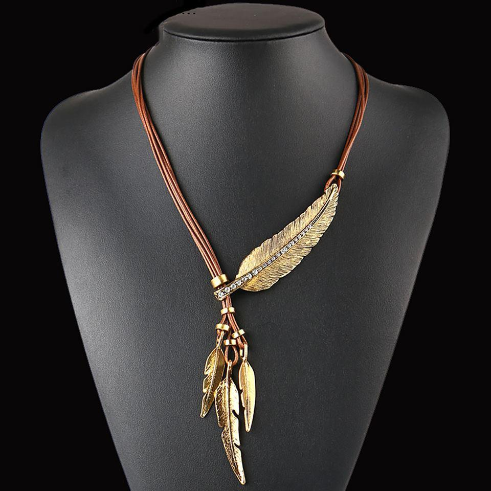 Custom Feather Necklace