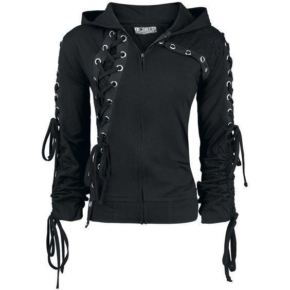 Gothic Hooded Sweatshirt