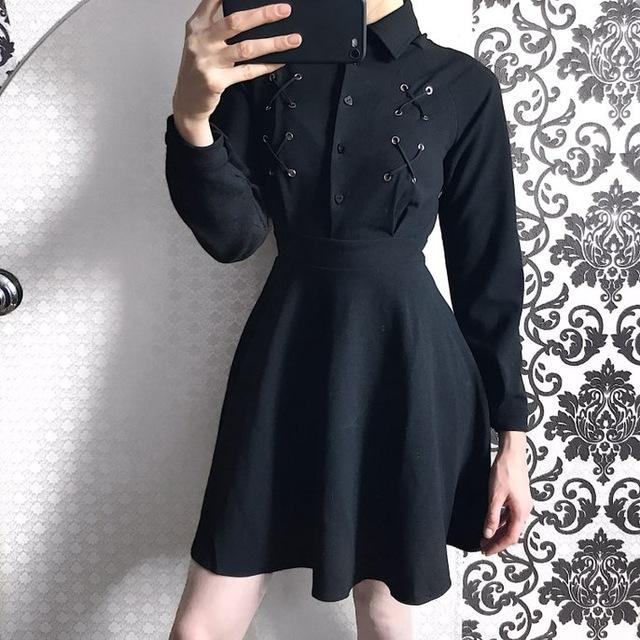 Gothic Women's Mini Dress