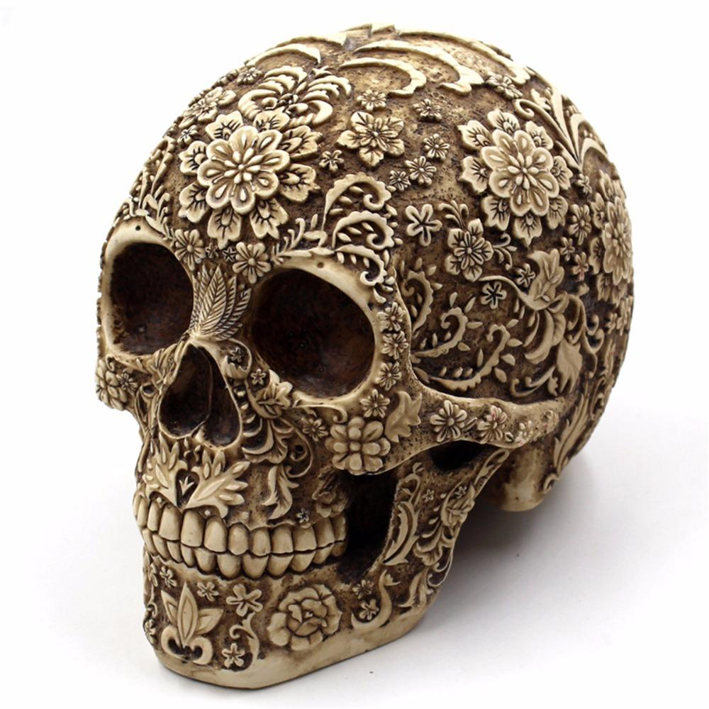 Skeleptico™ - Human Skull Decoration