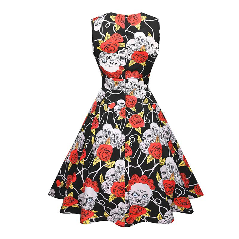 Old-School Retro Skull Dress