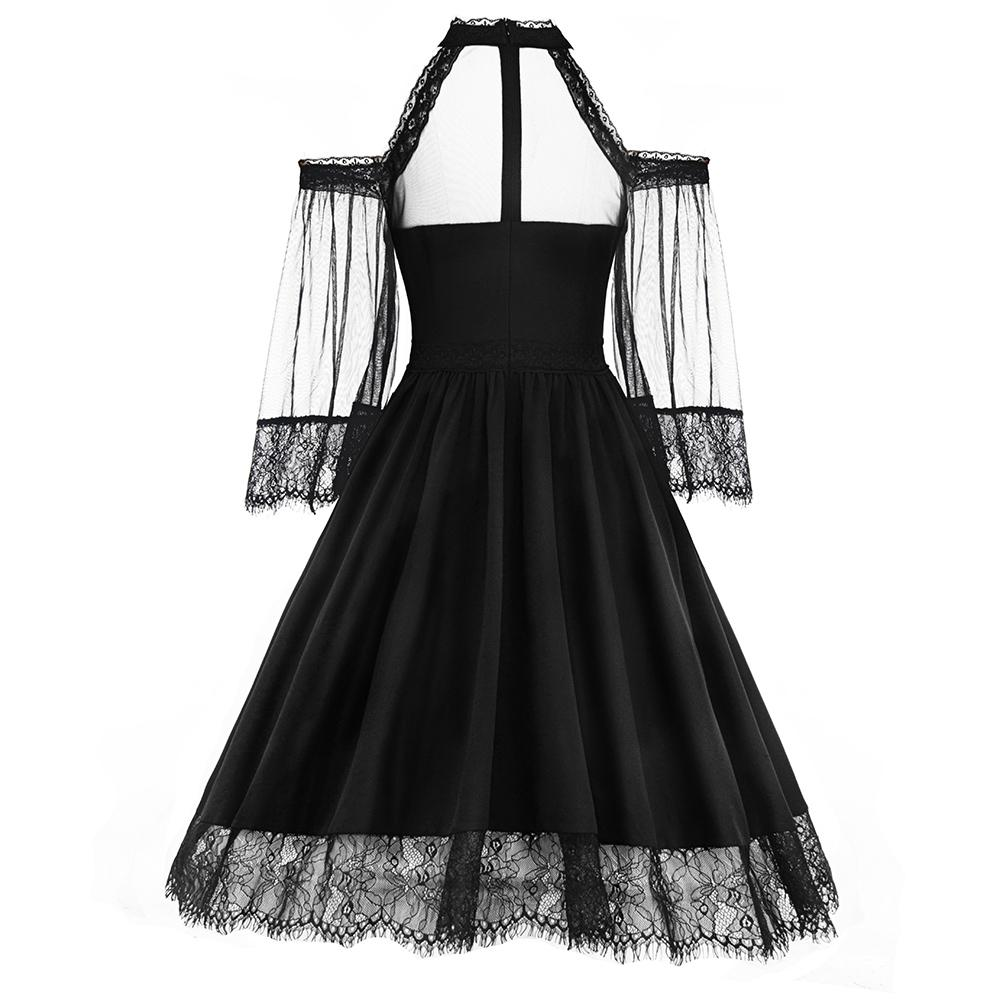 Women's Gothic Lace Dress