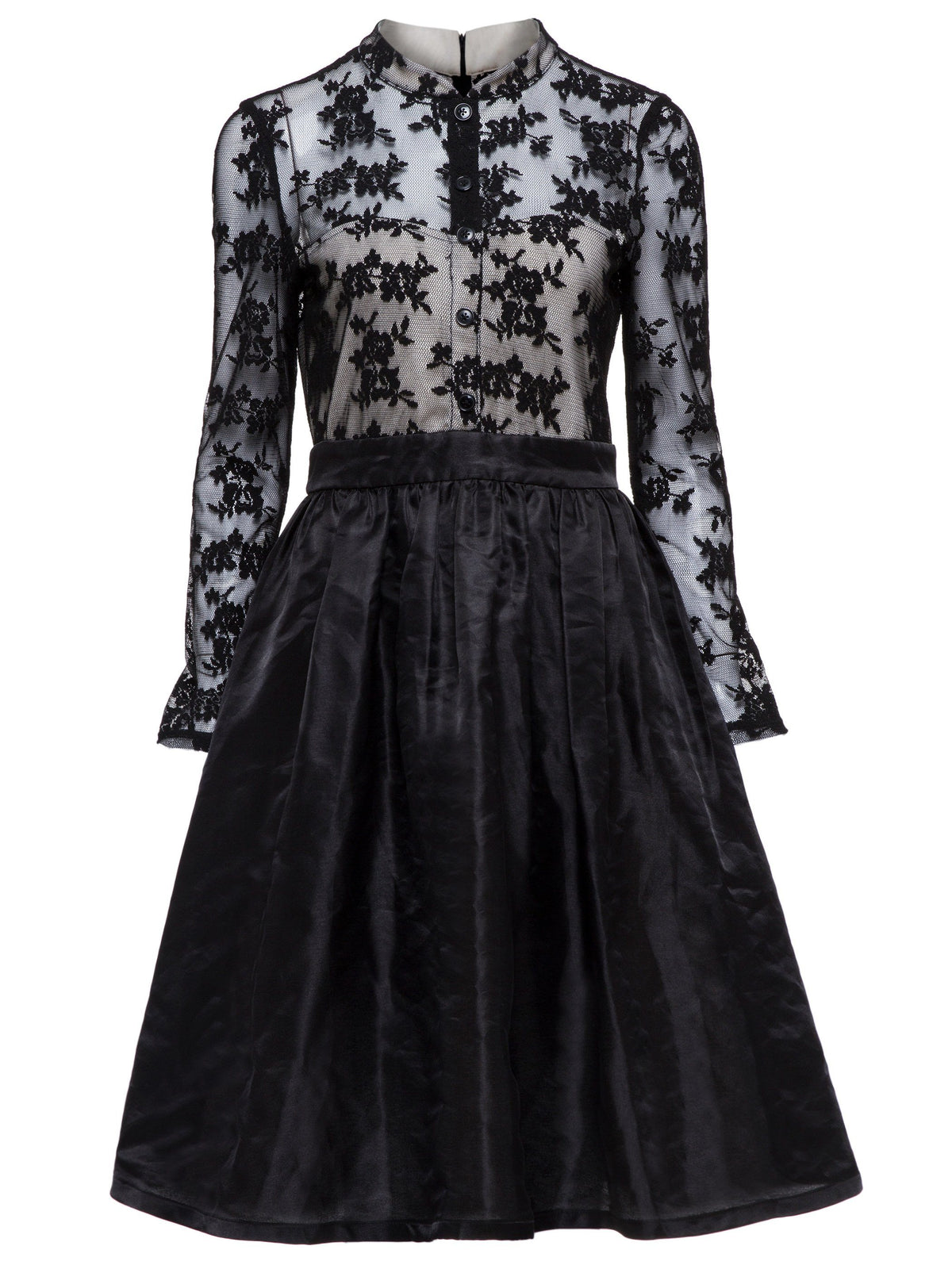 Gothic See-Through Lace Dress