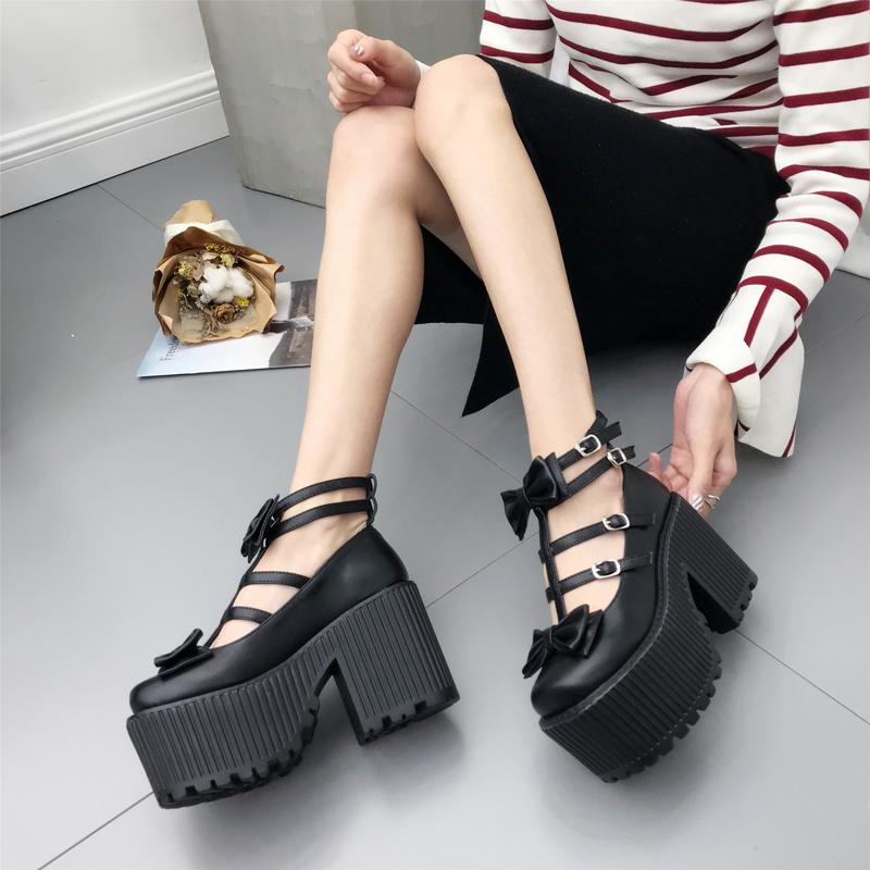 Gothic Ankle Shoes