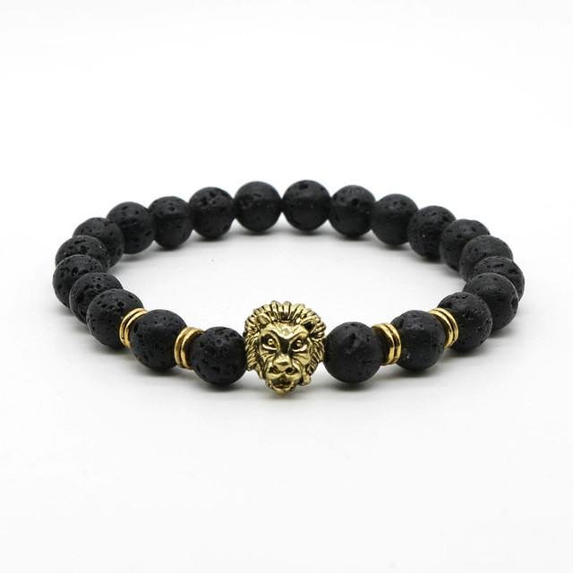 Buddha Lion Head Bracelet