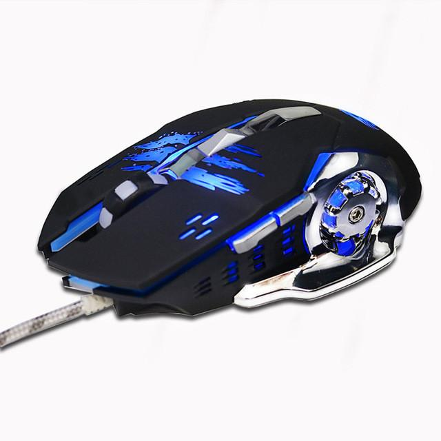 Professional LED Gaming USB Mouse