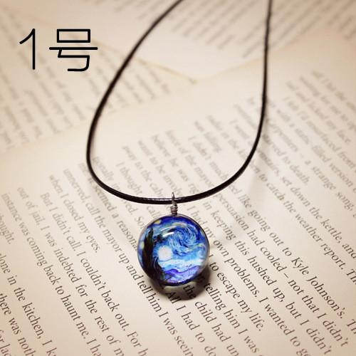 Galaxy Crystal Necklace