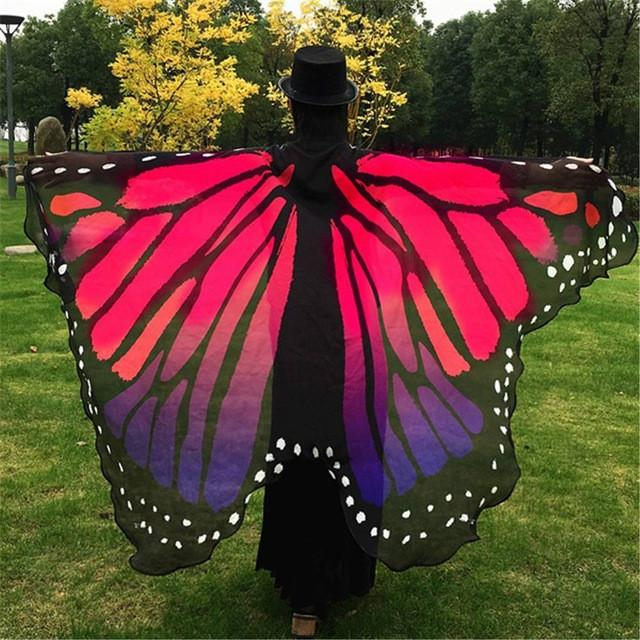 Butterfly Cape-Scarf