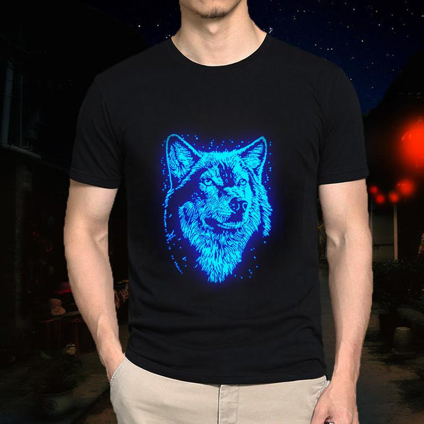 Glow In The Dark Wolf T-Shirt