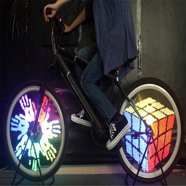 Image Programmable Waterproof Bicycle LED Light