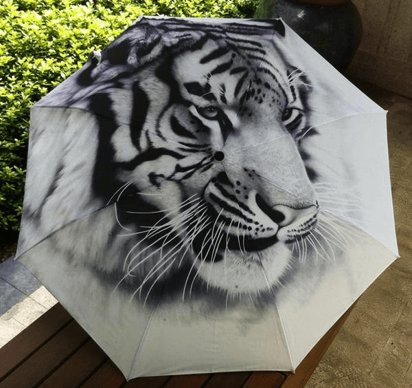 Tiger Umbrella