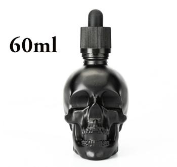 Skull Glass Dropper Bottle