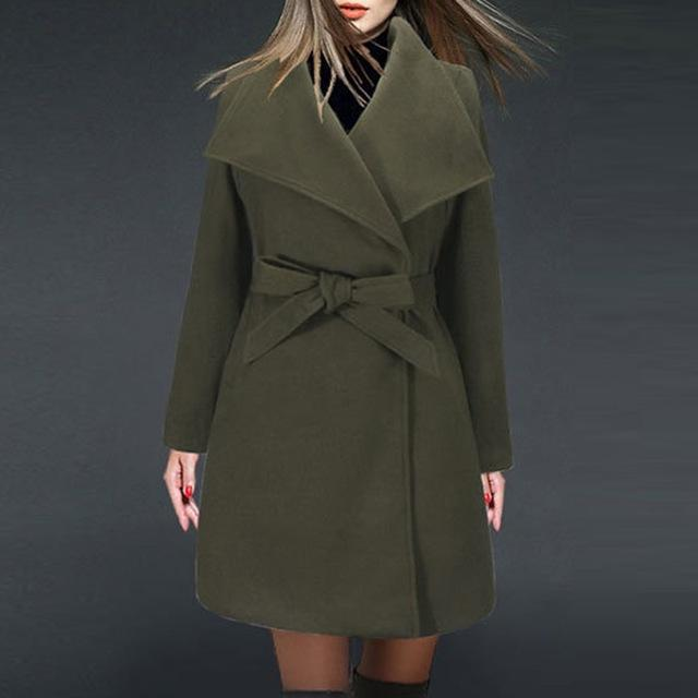 Casual Woolen Coat