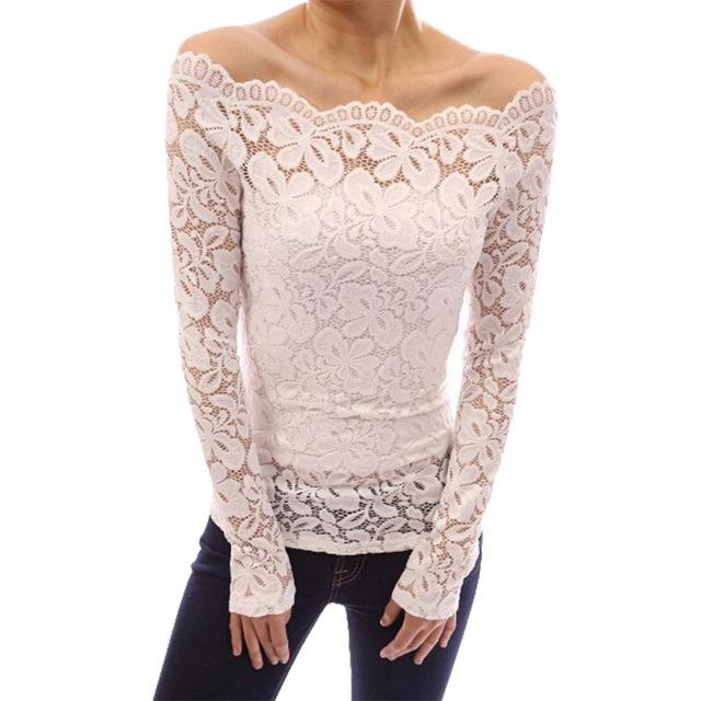 Women's Floral Lace Shirt