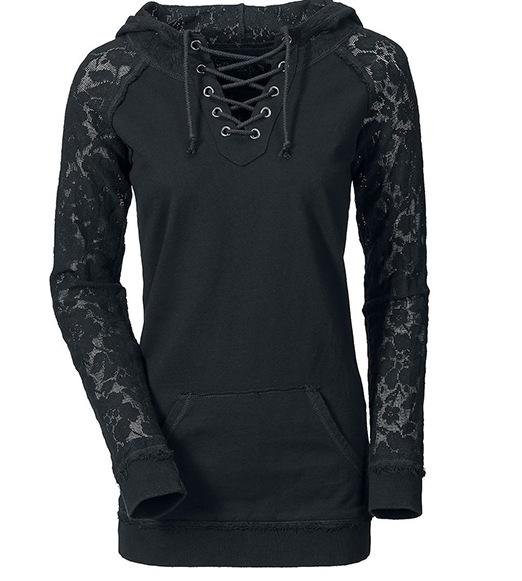 Hooded Gothic Sweatshirt