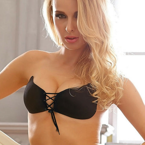 Backless Strapless Self Adhesive Push Up Bra