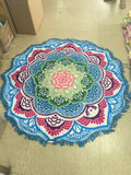 Indian Mandala Tapestry Boho Yoga Blanket