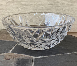 Tiffany & Co. Rock Cut Crystal Bowl