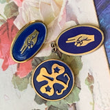 Vintage GSUSA Lapel Pins & Pendant - Lady Slippers