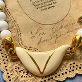 Vintage Napier Necklace - Lady Slippers