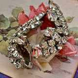 Vintage Sparkling Rhinestone Earrings - Lady Slippers