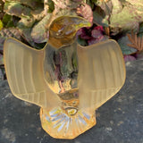 Crystal Bald Eagle Glass Figurine