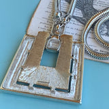 Vintage Monet Modern Looking Necklace