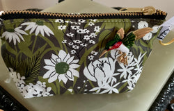 LS Charlie Change Purse & Hummingbird Pin - Lady Slippers