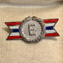 Vintage Sterling Silver World War II Pin