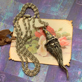 Vintage Merlin the Magician Necklace - Lady Slippers