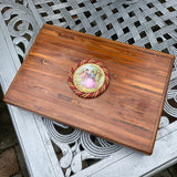 Lady Slippers Romantic Wooden Jewelry Box