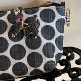 LS Charlie Change Purse & Proud Poodle Pin - Lady Slippers