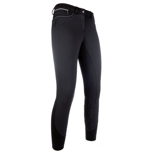 HKM Softshell Winter Breeches with Bling