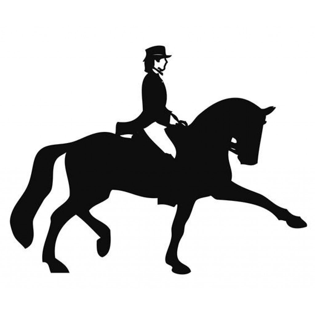 HKM Dressage Car Sticker
